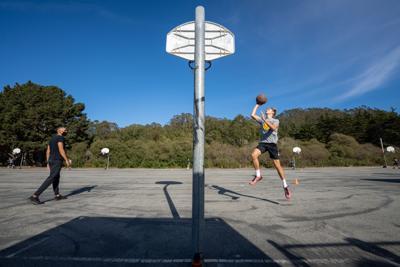 Practice pod basketball practice