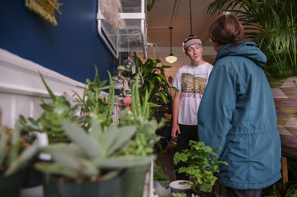 Living Room Plant Co. is a family affair