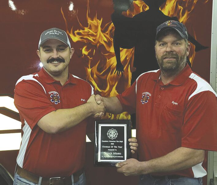 Chambers Fire Department Holds Award Ceremony