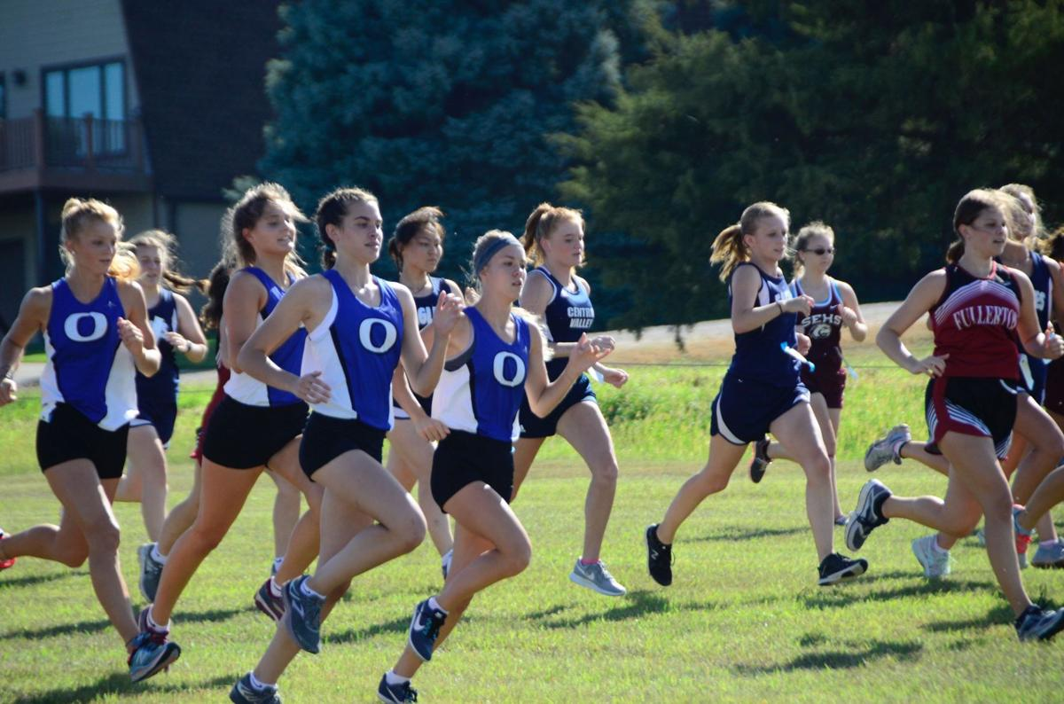 OHS Girls place 4th