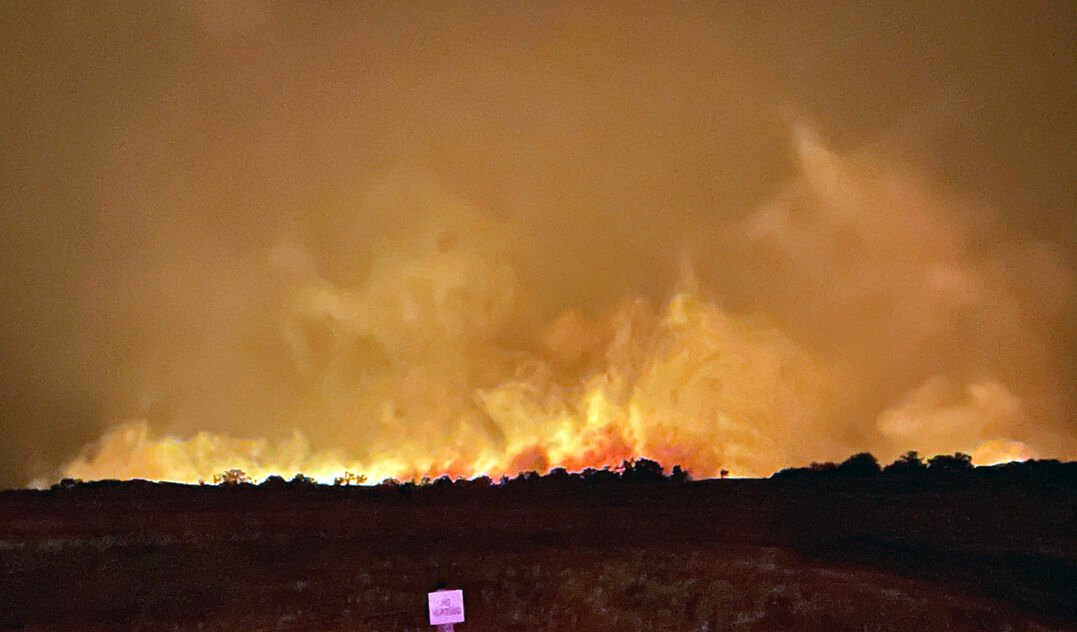 Lightening Fires Spread Havoc In Northern Holt County