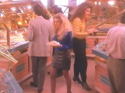 This glorious Sizzler's commercial from 1991 says a lot about food in America