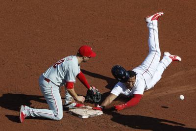 APTOPIX Phillies Red Sox Baseball