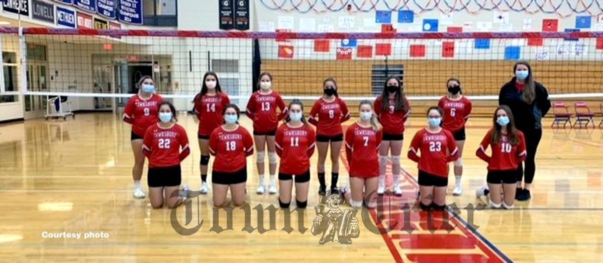 The TMHS JV 'A' Volleyball team