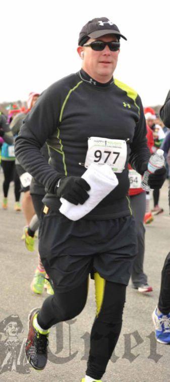 Run on to his first marathon