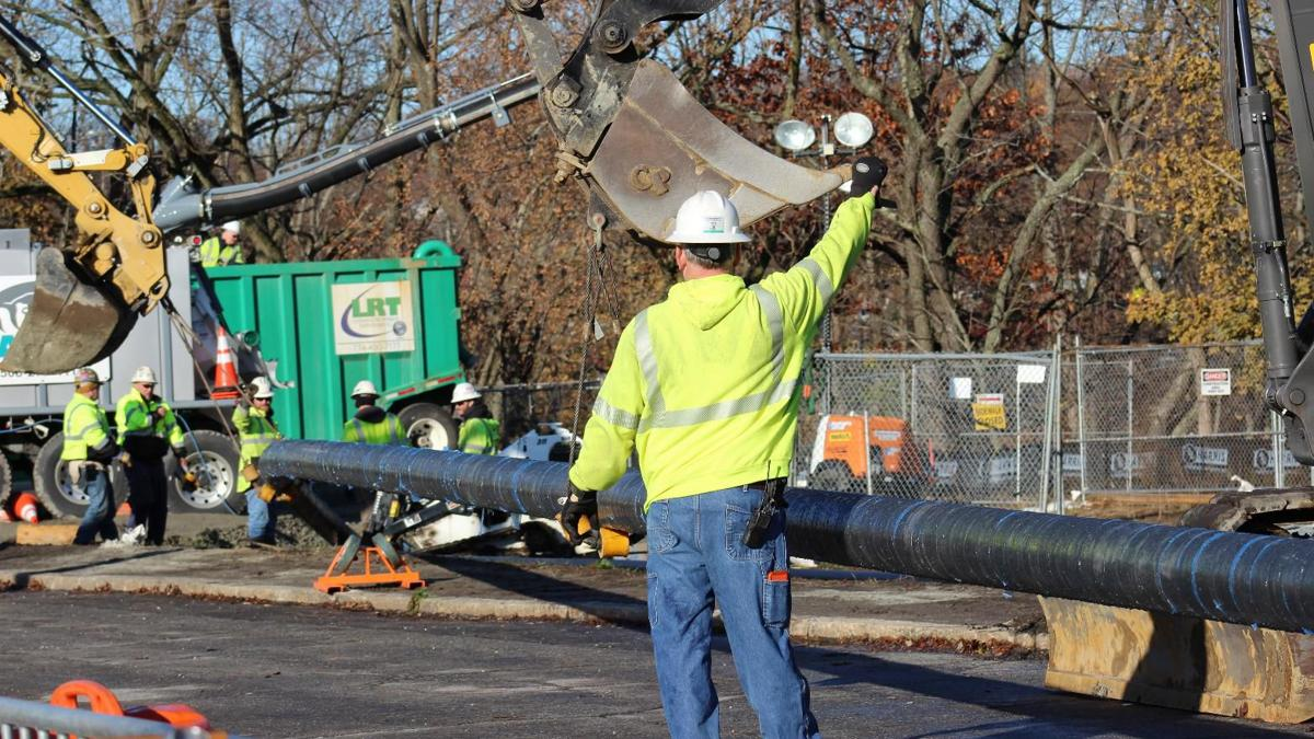 Major construction milestone completed in Eversource transmission project