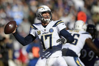 Chargers Ravens Football