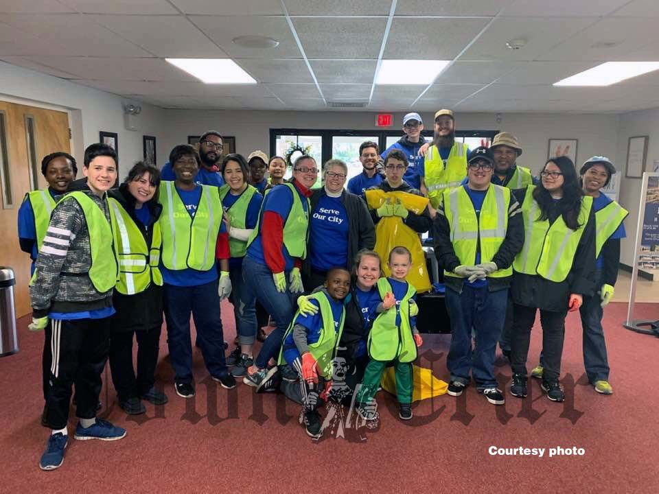 Lowell Assembly of God volunteers