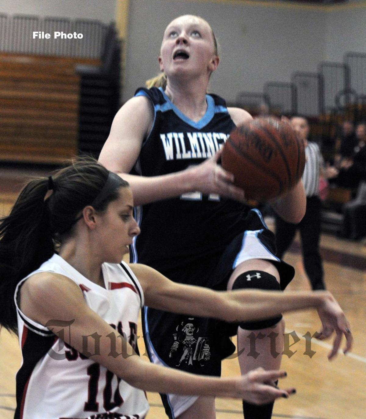 Amanda Keane made the reserve team for the Town Crier's All-Decade Girls' Basketball team