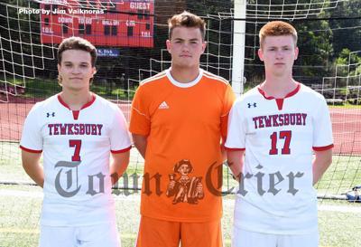 The 2019 TMHS Boys Soccer team's captains
