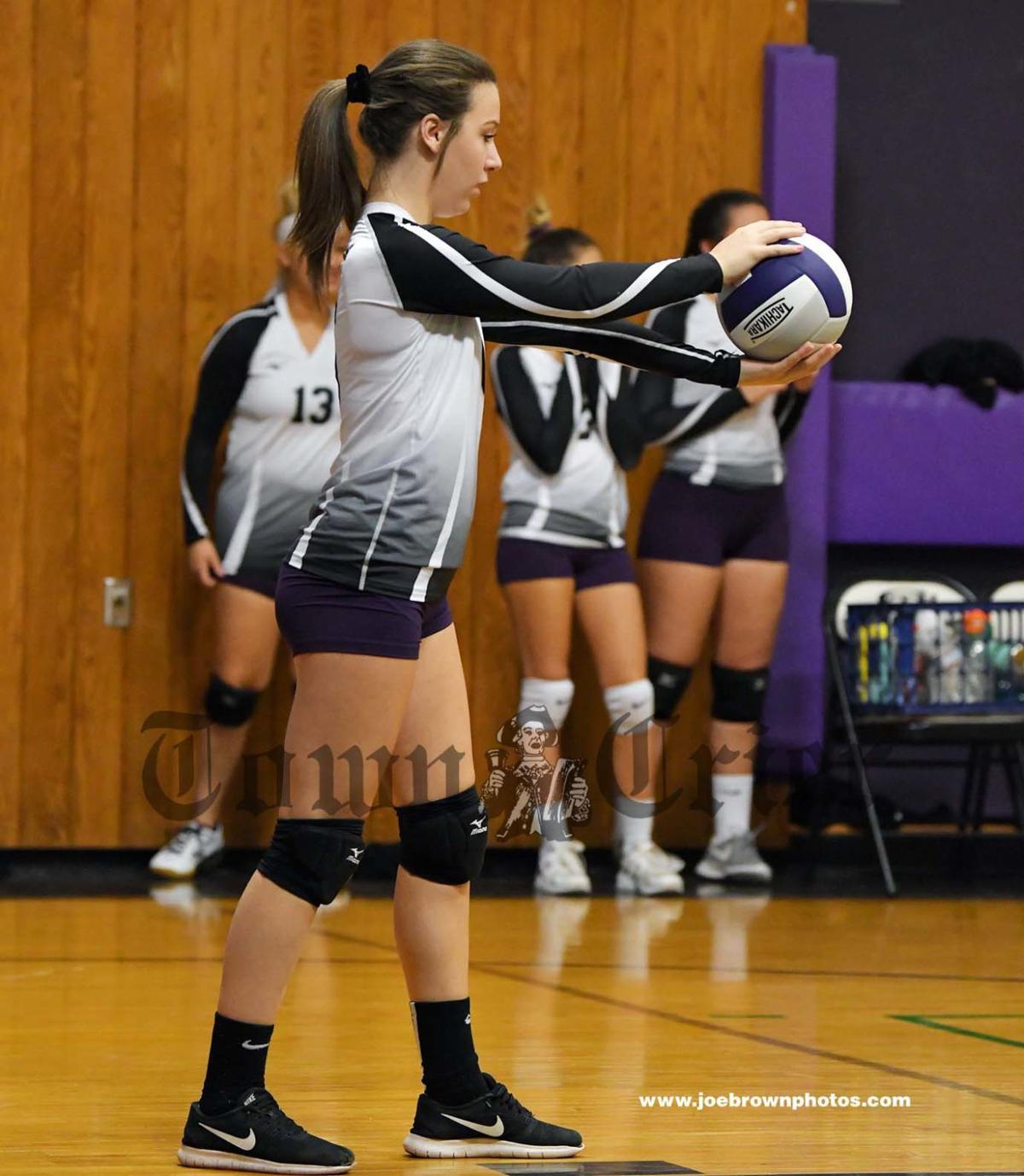 Shawsheen Tech Volleyball player Chloe Gaglione