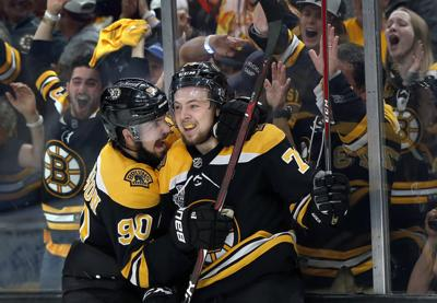 APTOPIX Stanley Cup Blues Bruins Hockey