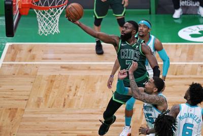 Hornets Celtics Basketball