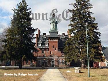 The Old Administration building at Tewksbury State Hospital