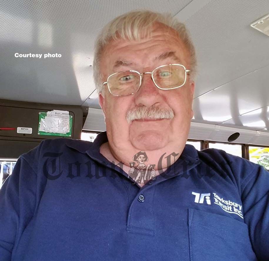Veteran bus driver Roy Flagg today