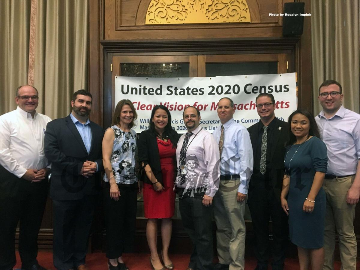 Local officials met at Andover's Memorial Hall Library for the 2020 Census Kickoff event