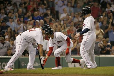 Twins Red Sox Baseball