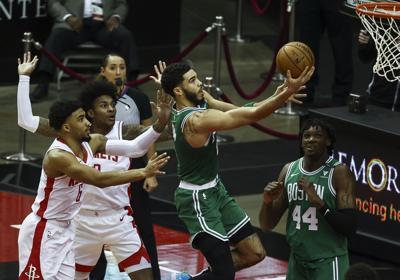 Celtics Rockets Basketball