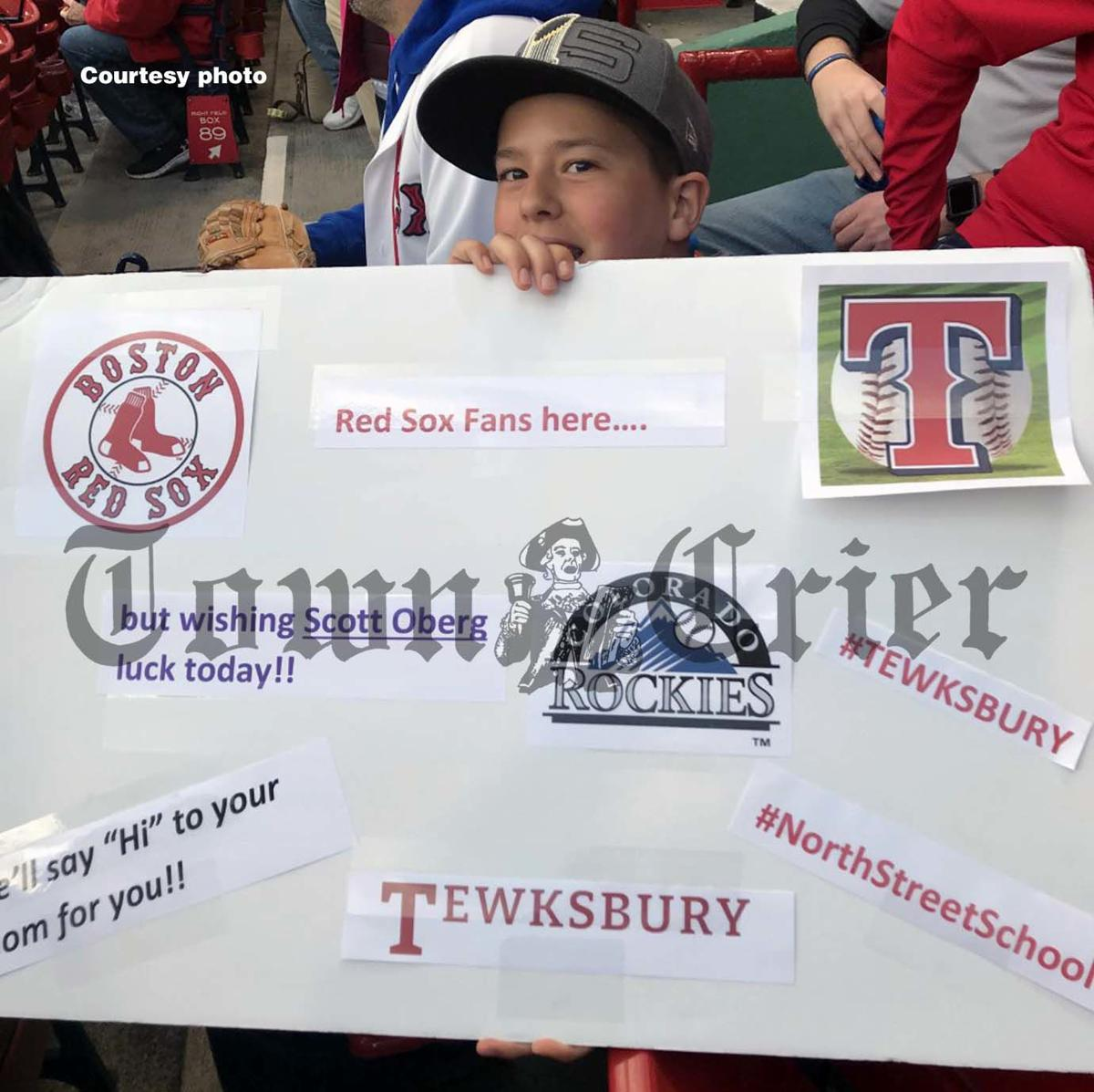Tewksbury locals show support for Oberg