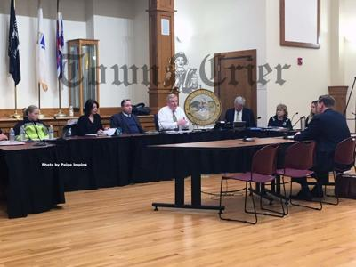 The Tewksbury Board of Health conducted a public hearing regarding an animal cruelty complaint against Dinis Oliveira