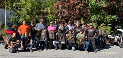 Members of veterans rider organizations come together to help fellow vets