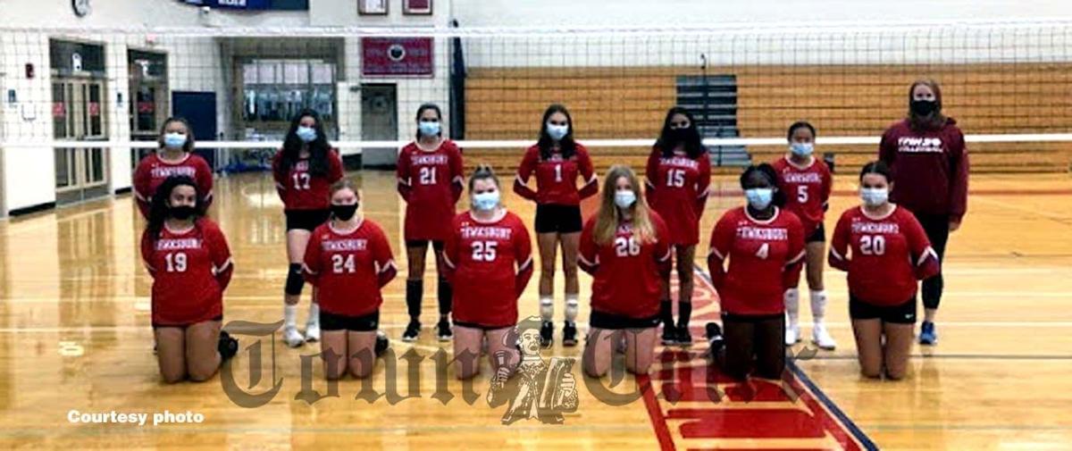 The TMHS JV Volleyball 'B' team