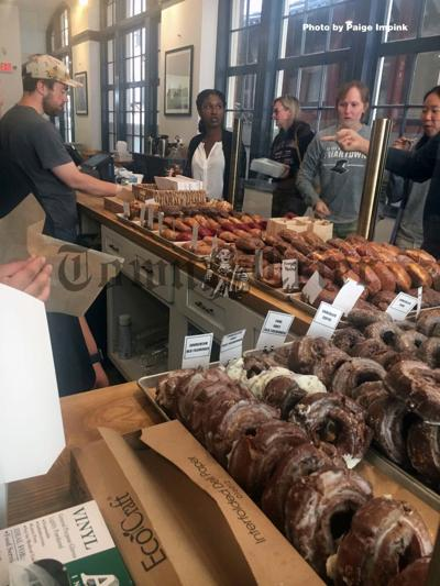 Hand-crafted donuts at Knead in Providence