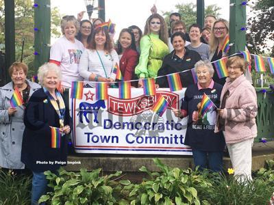 "Tewksbury's Democratic Town Committee, along with Indivisible Billerica/Tewksbury/Wilmington, held ""Show Your Pride, Tewksbury"""