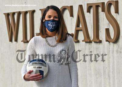 New WHS Volleyball Coach, Lauren (Feltch) Donoghue