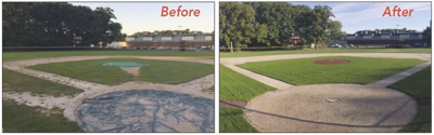 Reading Little League Park: Before & After