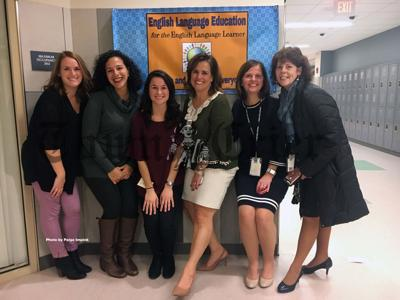The EL team for the Tewksbury Public Schools