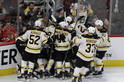 Bruins Blackhawks Hockey
