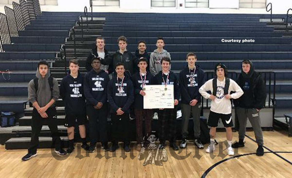 The WHS Wrestling team