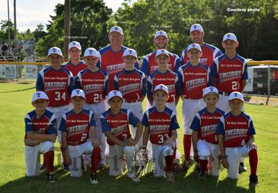 The Tewksbury 11U All-Star Baseball team