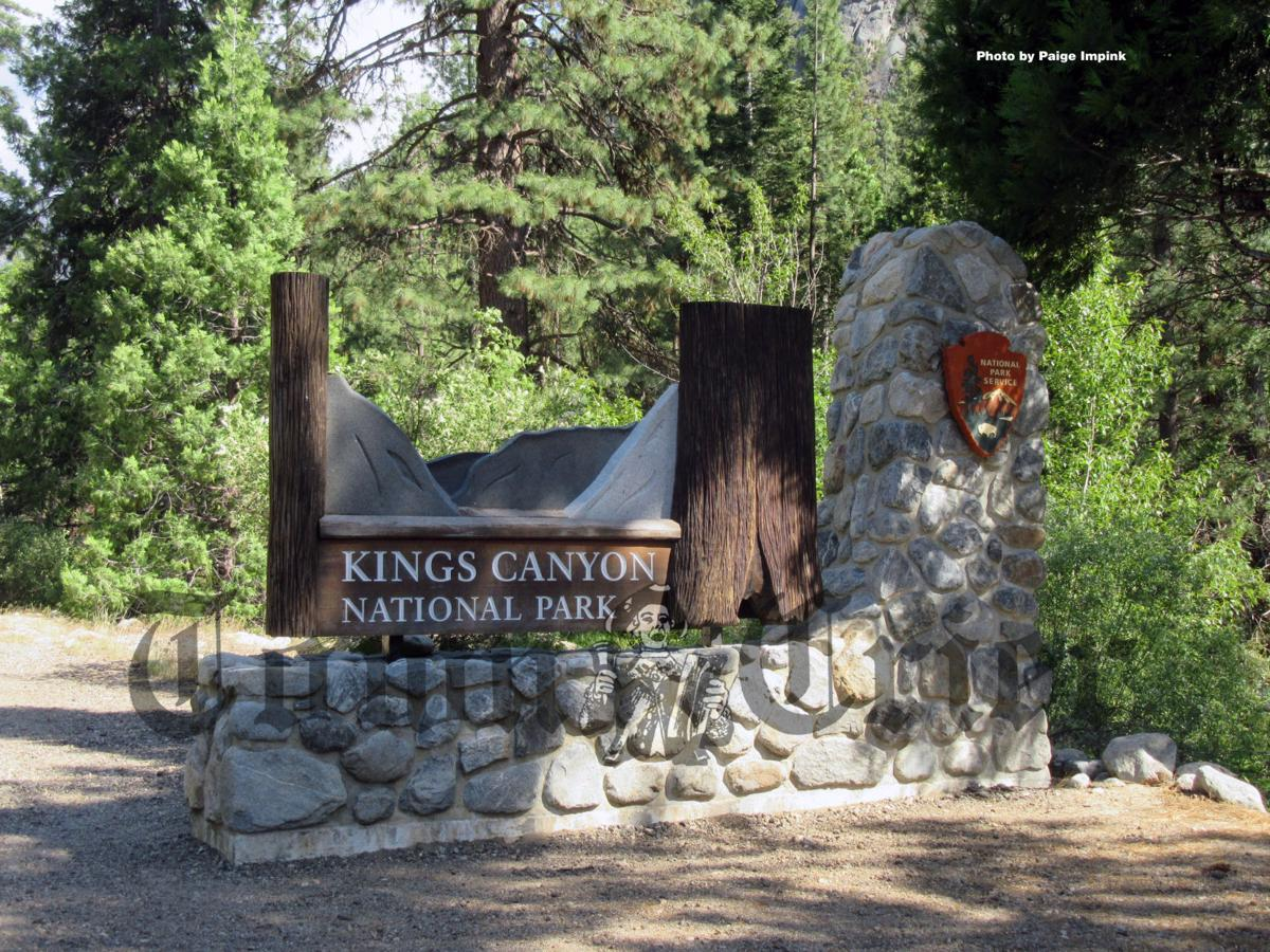 Entrance to Kings Canyon National Park