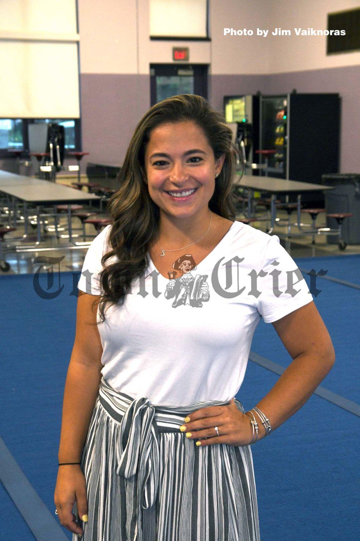 Cheerleading coach Samantha Cacciola