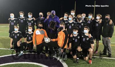 The Shawsheen Tech Boys Soccer team won the CAC League Championship