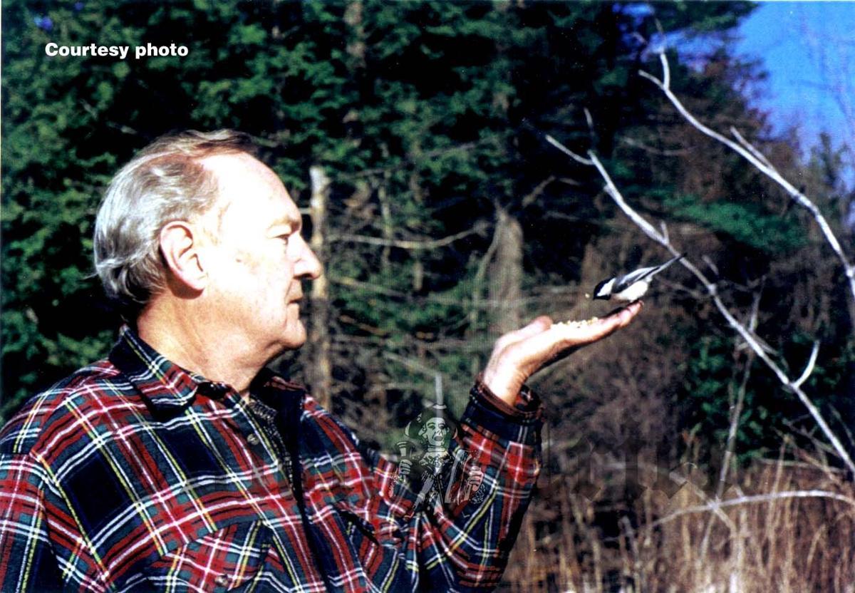 Hugh Wiberg enjoyed feeding wild birds