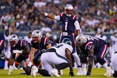 Patriots Eagles Football