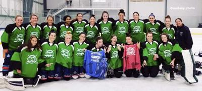 The Mass Preps Girls Hockey team captured the championship title at the HNIBShowcase.