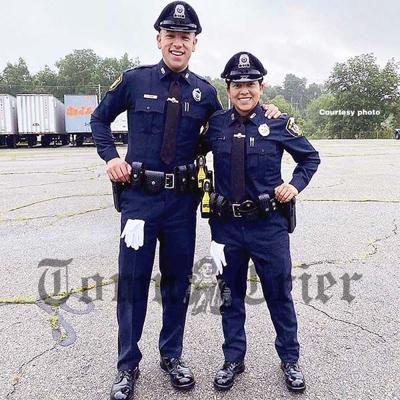 New Officers Michael DiLorenzo and Kathryn Goodwin
