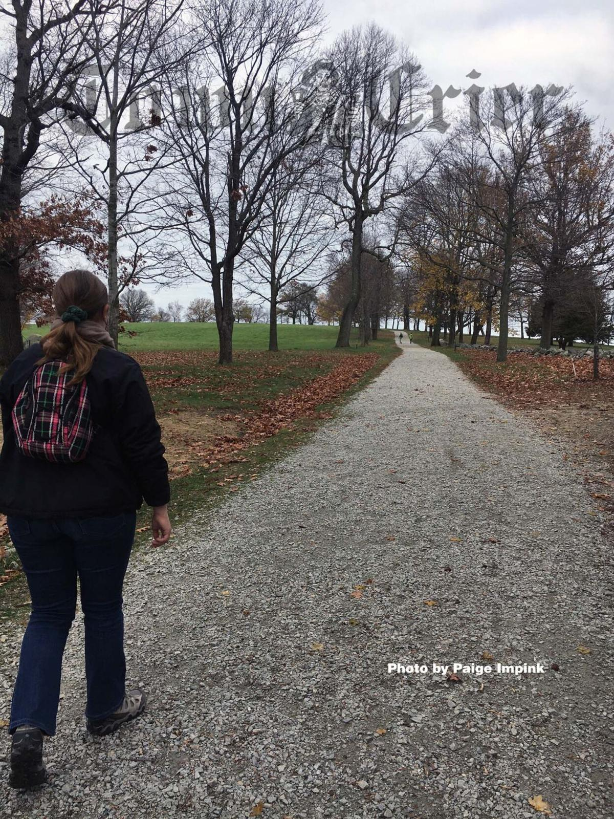 Frederick Law Olmsted-designed carriage paths at World's End