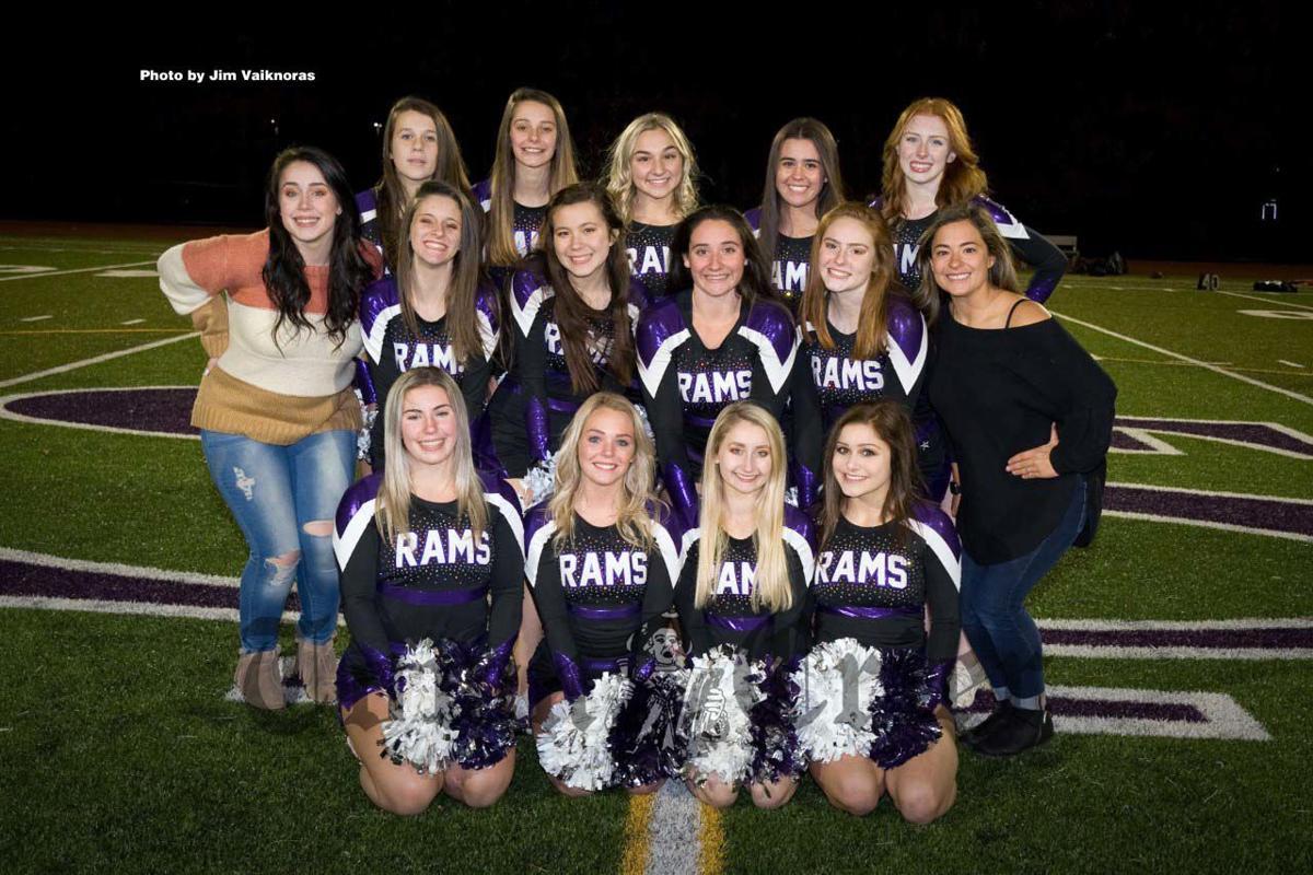 The Shawsheen Tech Cheerleading team