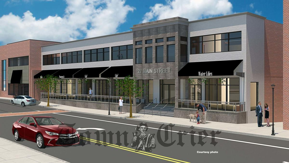 Downtown Andover rendering
