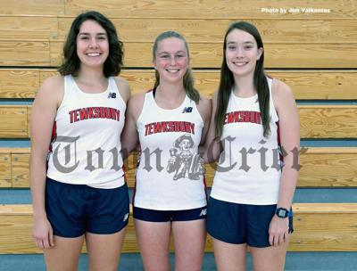 The 2019 TMHS Girls' Cross-Country team tri-captains