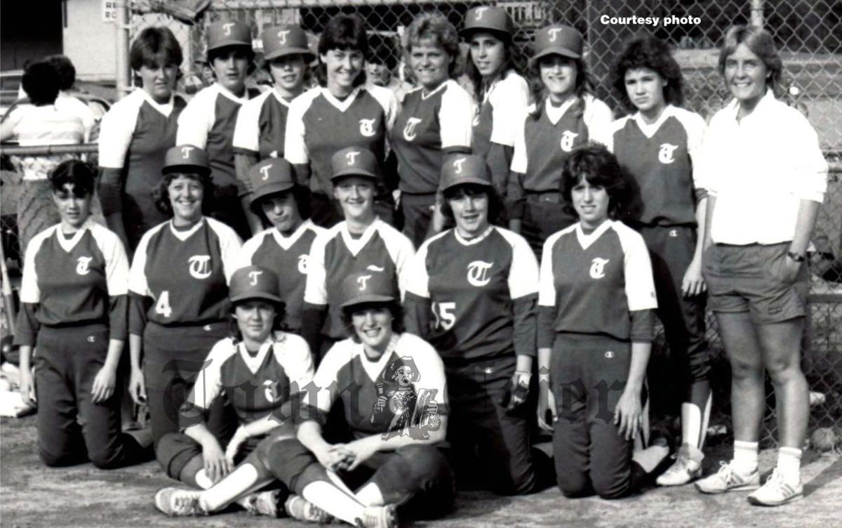 The 1984 Tewksbury High School softball team