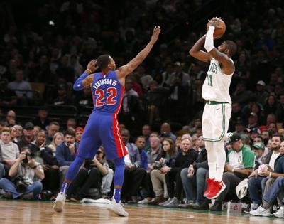 Pistons Celtics Basketball