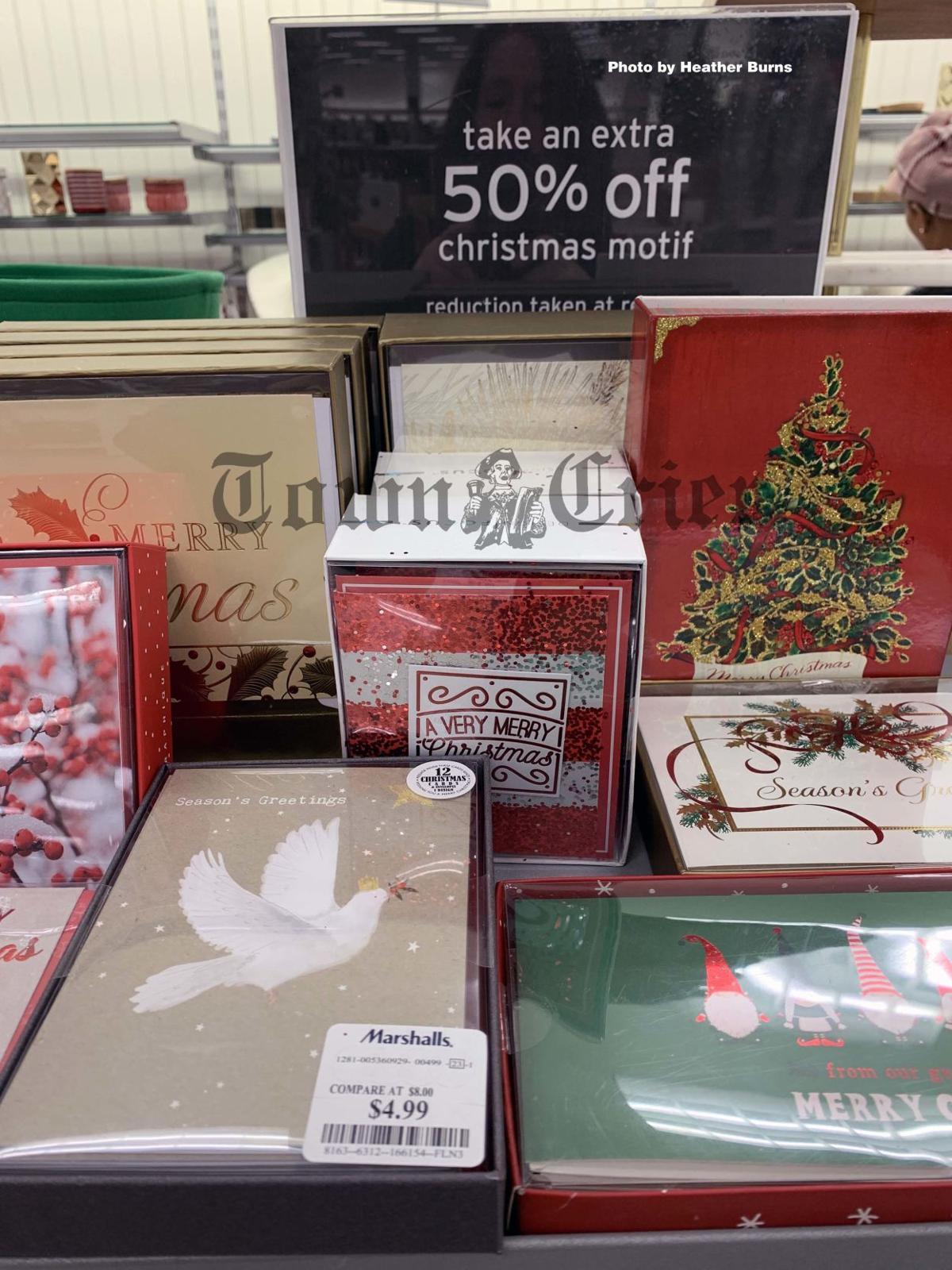 Stock up now on Christmas cards