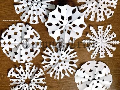 Fun themed snowflakes