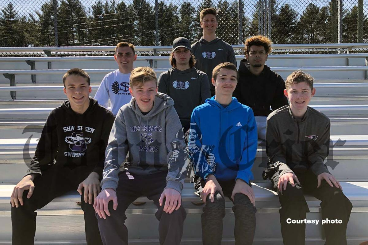 The Wilmington residents on this year's Shawsheen Tech Boys Track team